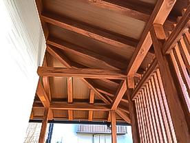 サイエンスホーム・軒先化粧垂木